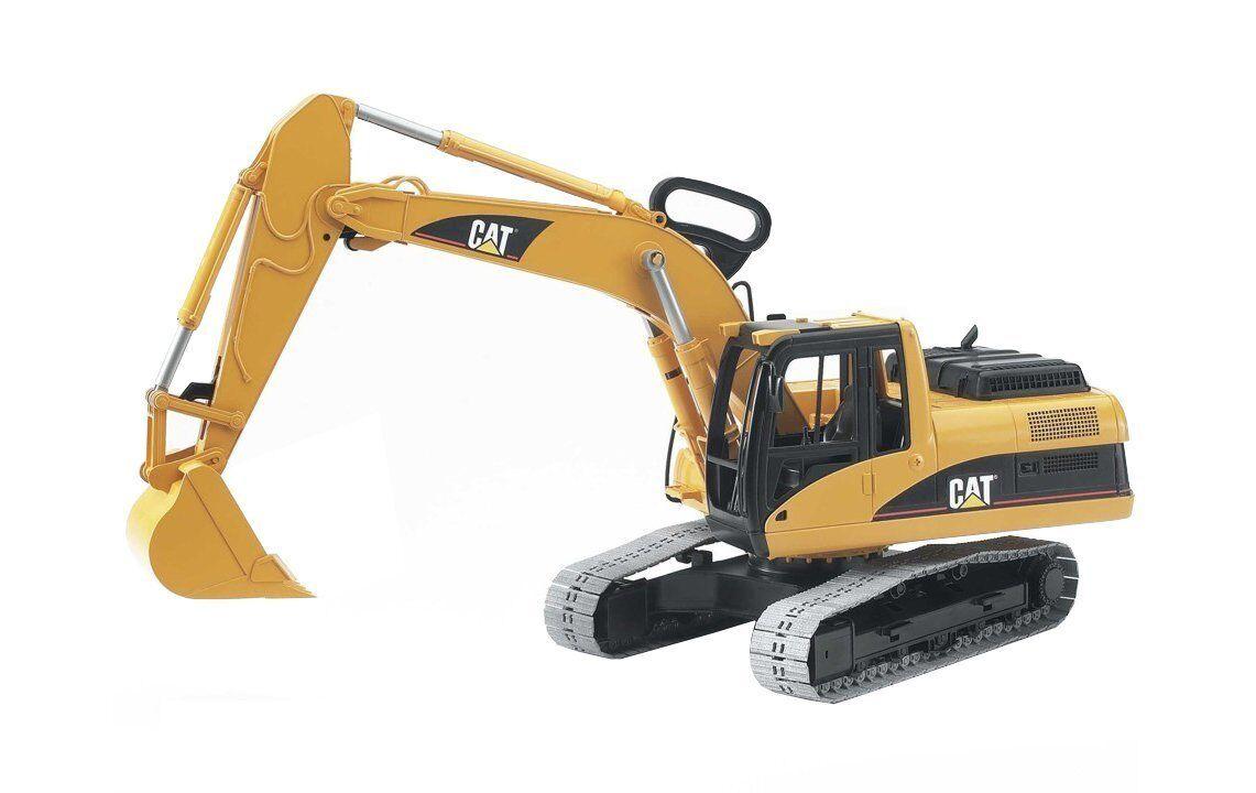 Bruder Schauffelbagger Bagger Caterpillar 02438 Baustelle NEU OVP