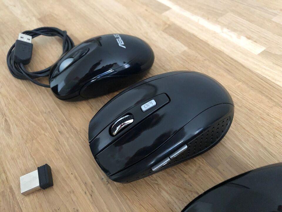 Mus, trådløs, Computer mus