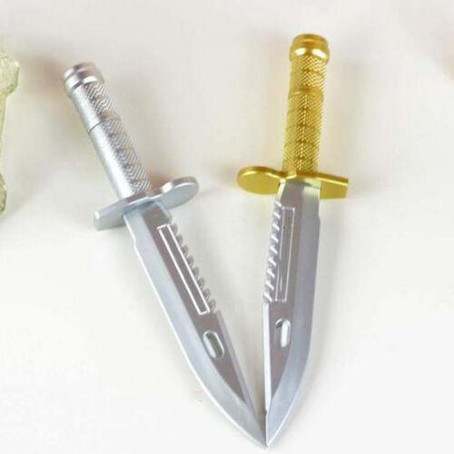 Neu 2x Neuheit Gel Stift Messer Form Dolch Schreibgerät Kreatives Geschenk Hot