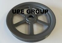 Cast Iron Pulley Sheave 13.75 For Electric Motor 2 Groove For B & 5l 5/8 Belts