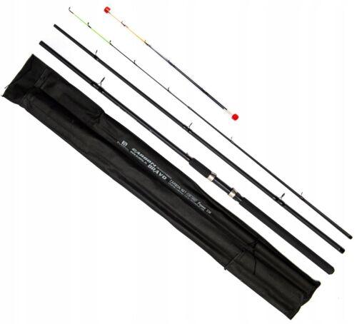3,60 Feederrute Feeder Angelrute Steckrute Carbon Rute 80-120g BIG BULL 110404