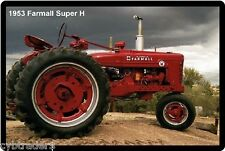 1953 Farmall Super H Tractor Refrigerator/Toolbox  Magnet