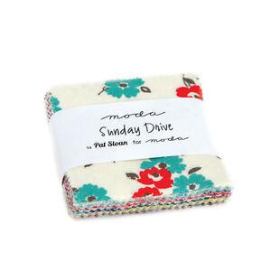 Sunday Drive by Pat Sloan Mini Charm Pack - Candy - Moda Fabrics