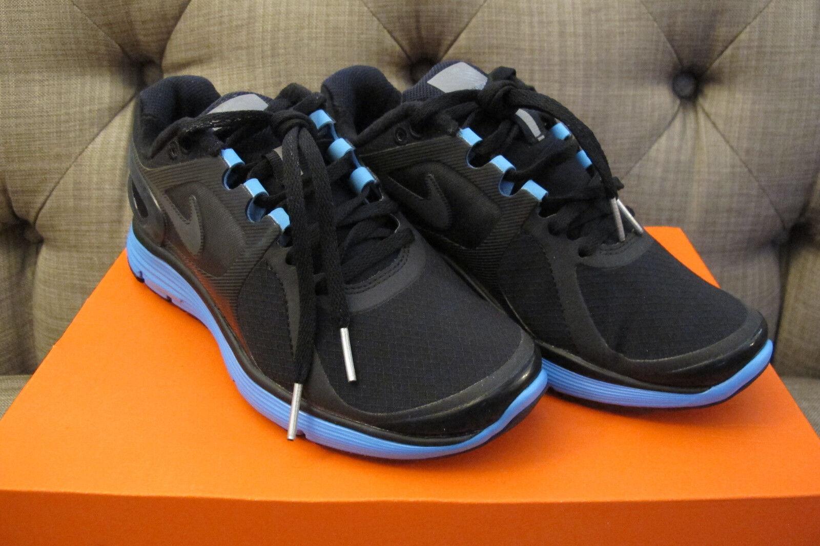 NIKE Shoe Lunareclipse+ 2 Women's Running Shoe NIKE Black/Dk Grey-University Blue 5.5 NIB 221342