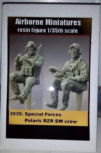 AIRBORNE MINIATURES SPECIAL FORCES POLARIS RZR SW CREW 1:35 Cod.3535