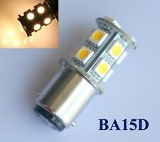 Ba15d 1076 1157 High Power Car LED Bulb 13 5050 SMD DC 12V Warm White