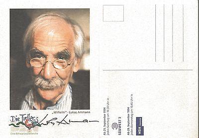 1 Autogramm Lukas Ammann Amann Graf Yoster Forellenhof verstorben