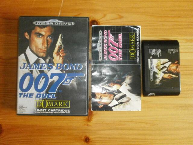 James Bond 007 : The Duel - Mega Drive (PAL)