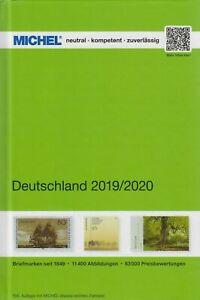 Michel-Deutschland-Briefmarkenkatalog-2019-2020-mit-Altdeutschland-NEU