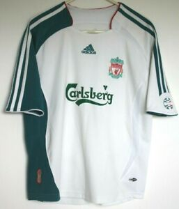 Ex-Liverpool-FC-Shirt-2006-2007-Medium-Femmes-away-Adidas-12-A