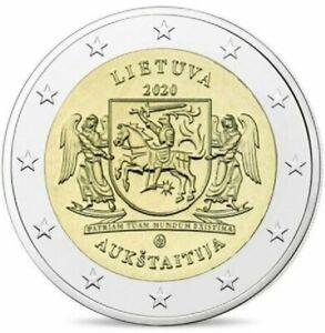 Litouwen-2020-Auk-taitija-2-euro-CC-UNC