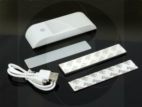 12LED Automatic Infrared Motion Detection Sensor Rechargeable Night Light Lamp