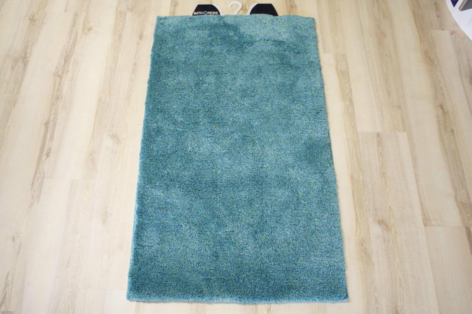 Tapis de Bain Multi Turquoise 80x150 CM
