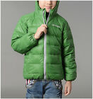 Cappotto Giacca Bambini Piumino D'Oca Children Hoodies Jacket Duck Down 3456001