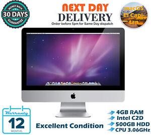 Apple-iMac-21-5-034-Intel-Core-2-Duo-3-06GHz-4GB-RAM-500GB-HDD-El-Capitan-A-Grade