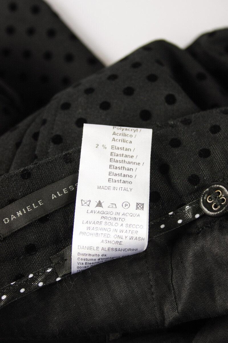 Pantaloni Pantaloni Pantaloni Daniele Alessandrini Jeans Trouser MADE IN ITALY Uomo Nero P3016N640 1 f01d33
