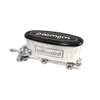 """Wilwood 260-12900-BK Aluminum Tandem Master Cylinder for Classic Mustang 7//8/"""""""