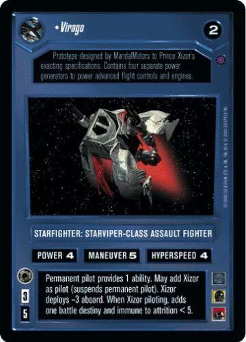 Star Wars CCG Reflections II Virago