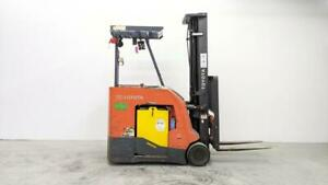 HOC 2016 Toyota BNCU20 Electric Forklift 4000 Lb 251 Inch Capacity + 90 Day Warranty Canada Preview