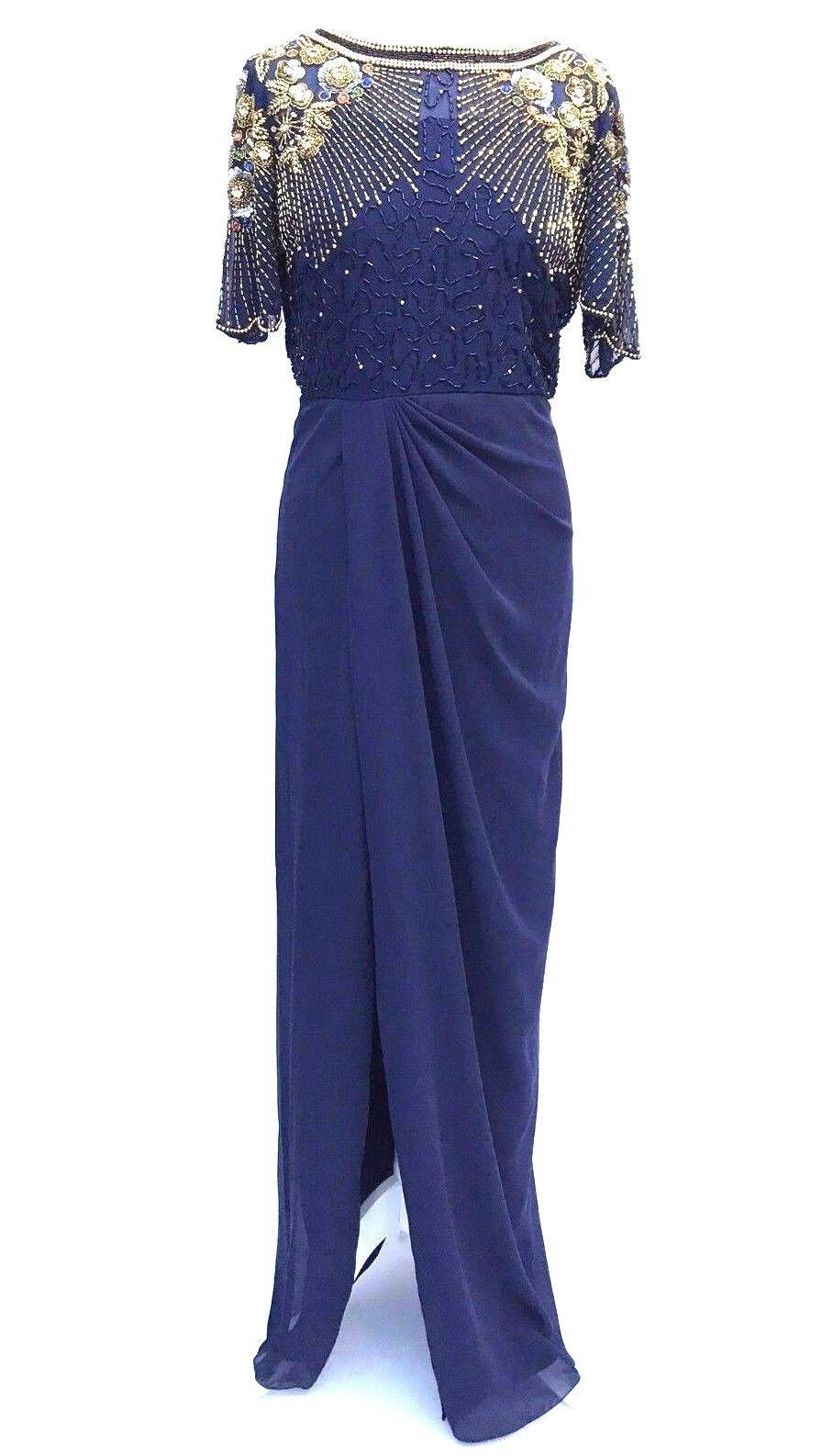 Virgos Lounge Embellished Wedding Party Maxi Dress