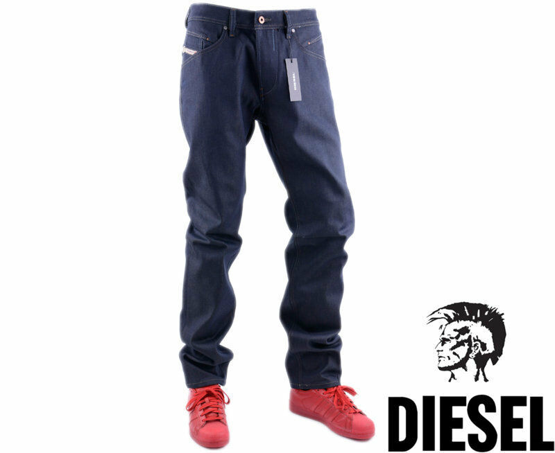 DIESEL BELTHER 0848U W33 L32 Mens Denim Jeans Regular Fit Straight