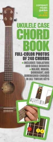 Ukulele Case Chord Book Sheet Music Compact Music Guides Book NEW 014037741