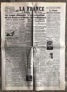 N19-La-Une-Du-Journal-La-France-24-Novembre-1941