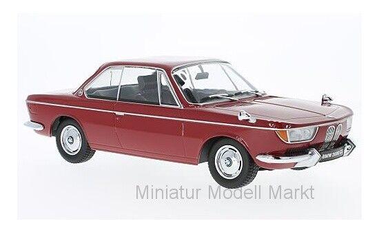 barato  180122 - - - KK-scale bmw 2000 CS-rojo oscuro - 1965 - 1 18  barato en línea