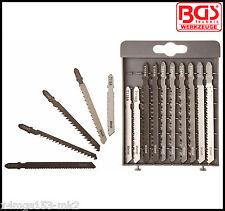 BGS - Jigsaw Spare Blades 10 Pack For Dewalt, Bosch, Makita, AEG, ELU - 50355