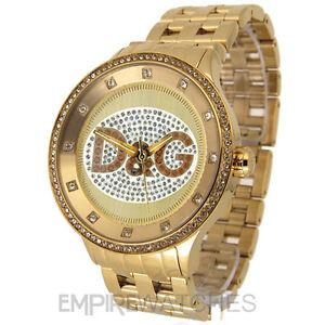 new dolce amp gabbana mens d amp g prime time gold watch image is loading new dolce amp gabbana mens d amp g