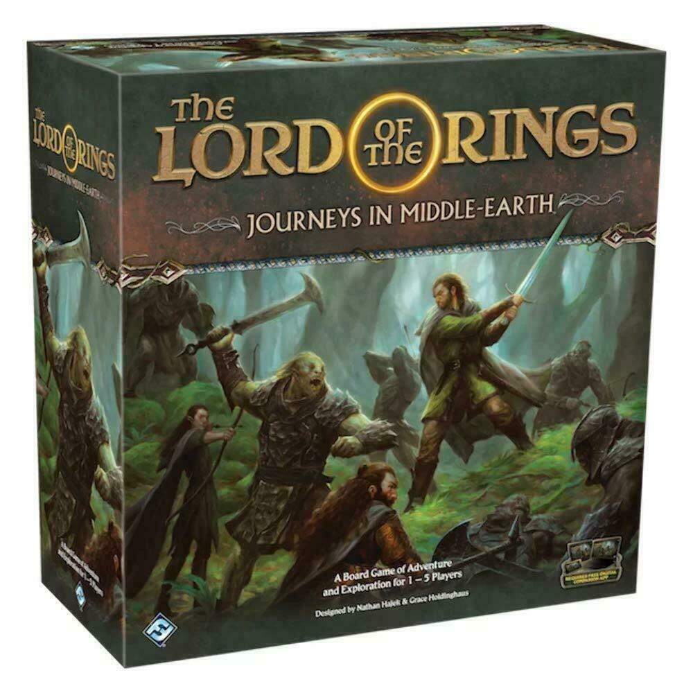 The Lord  of the Rings Journeys in Middle Earth tavola gioco Sealed nuovo NIB FFG  grandi prezzi scontati