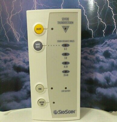 Xtreme Research Skyscan Lightning//Storm Detector