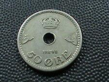 NORWAY    50  Ore    1948