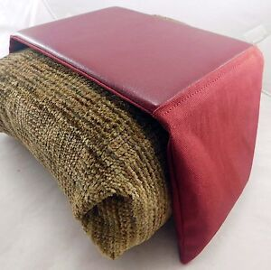 Bean Bag Arm Chair Arm Rest Mouse Pad Small All Burgundy No Pocket Ebay