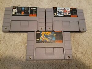 Starfox-Stargate-NHL-Stanley-Cup-SNES-game-lot