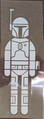 Star Wars FAMILY Car DECALS Cartoon Characters Singles Window Stickers Disney