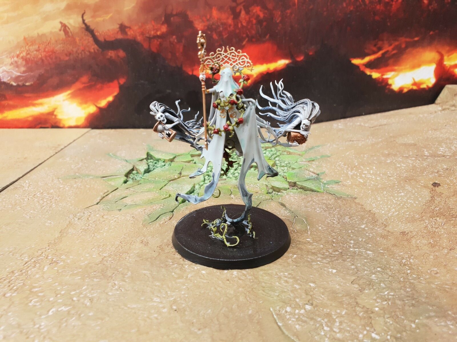 Warhammer Soul guerres Lady olynder, Mortarch of Grief Made To Order,