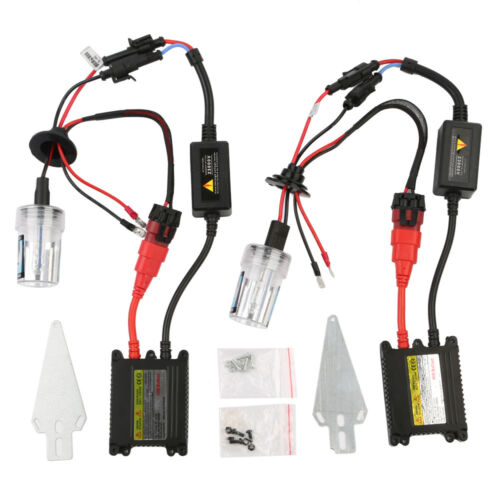 35W//55W HID Xenon Conversion KIT Headlights Ballasts Canbus H7 4300//6000//8000K