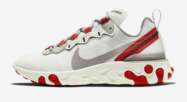 Size 8 - Nike React Element 55 Sail Phantom Red 2020 for sale ...
