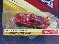 DISNEY PIXAR CARS 3 RUST-EZE RACING CENTER LIGHTNING MCQUEEN 2017 SAVE 5%