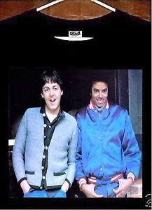 Image Is Loading Michael Jackson T Shirt Paul McCartney