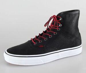 5 Homme Noir Chaussures Vans Uk Nouveau Rising 7 Yqw6B84