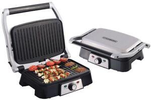 Contact Grill | Grill électrique | Sandwich Grille-pain | Paninigrill | Grill de Table | nouveau |  </span>