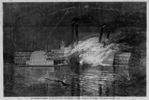 WARSAW KENTUCKY STEAMBOAT DISASTER UNITED STATES MAIL