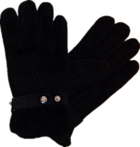 BLACK BROWN GRAY MENS BOYS WINTER WARM THERMAL KNITTED  FUR MAGIC GLOVES