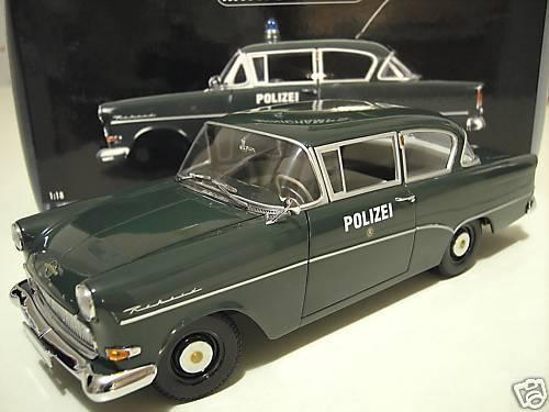 venta al por mayor barato OPEL OPEL OPEL REKORD P1 1958 POLIZEI verde 1 18 MINICHAMPS 180043290 voiture police collec  mejor precio
