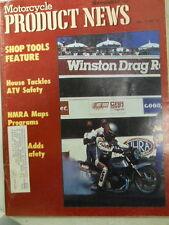 Motorcycle Product News, Nov 1987, House Tackles ATV Safety,   Blue box 2