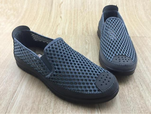 Summer Mens Mesh Loafers Breath Splice Slip On Loafers Mesh Leisure Walking Shoes Athletic c3c336