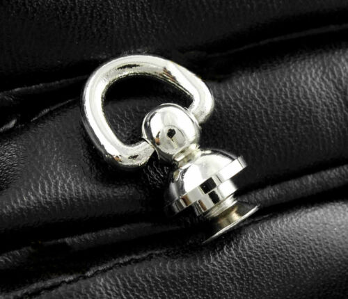 Screw Back Biker Chain Wallet Connector For Thick Leather DIY Leathercraft