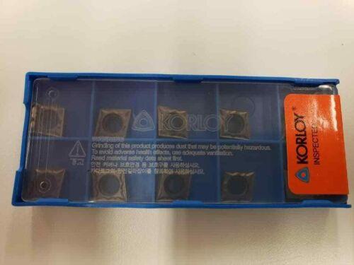 Korloy CCMT 32.50.5-HMP PC9030 Carbide Inserts Indexable 1-02-019356 10pc